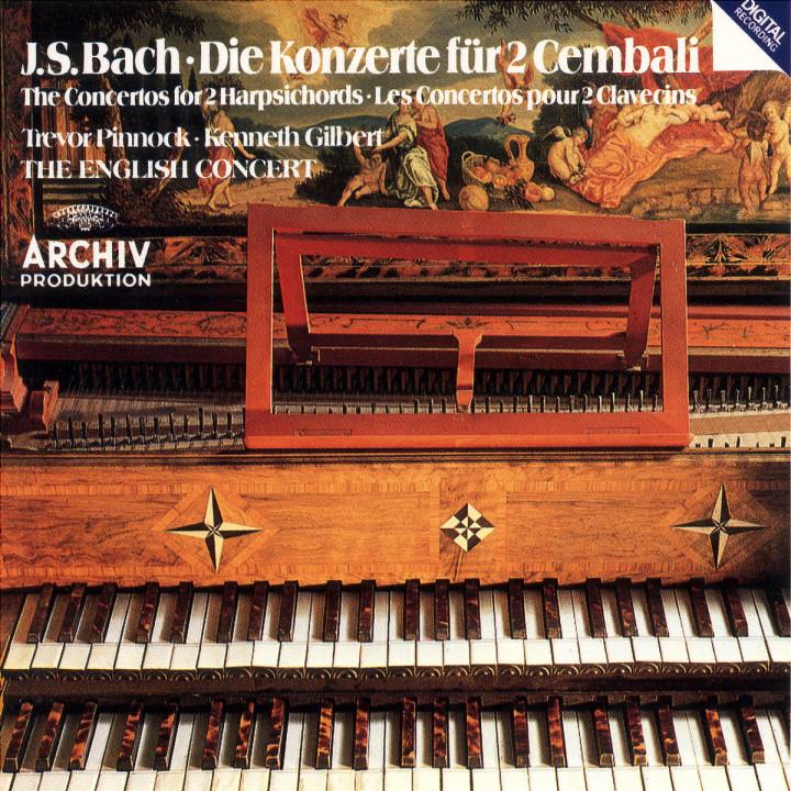 Die Konzerte für 2 Cembali 0028941513124