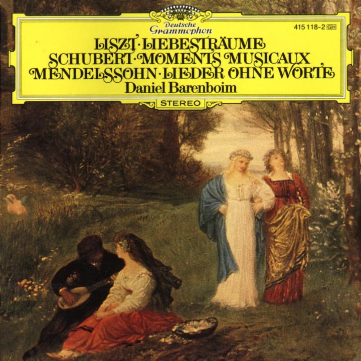Liebesträume; Moments Musicaux; Lieder ohne Worte 0028941511823