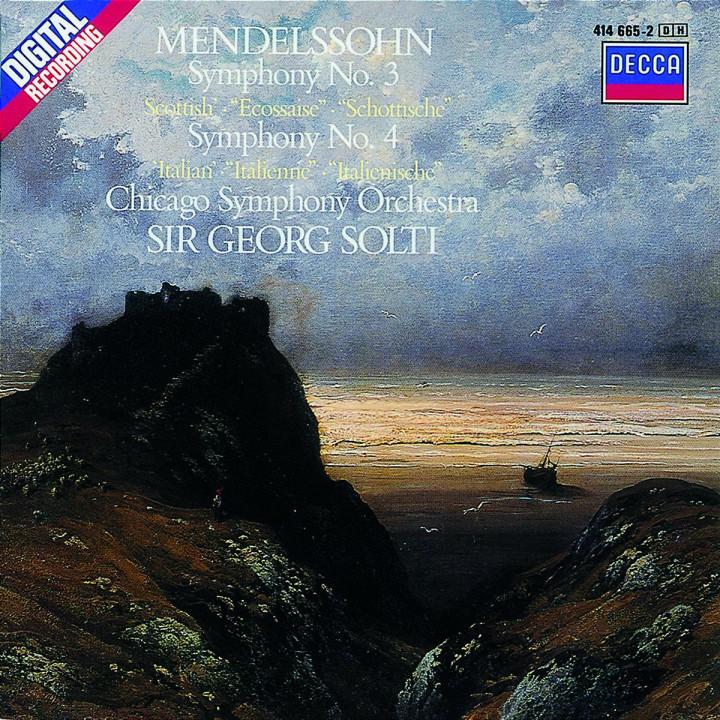"""Sinfonien Nr. 3 a-moll """"Schottische"""" und Nr. 4 A-dur """"Italienische"""" 0028941466523"""
