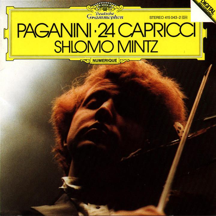 Paganini: 24 Capricci 0028941504328