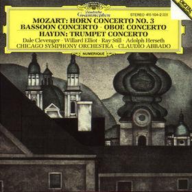 Wolfgang Amadeus Mozart, Hornkonzert Nr. 3; Trompetenkonzert, 00028941510426