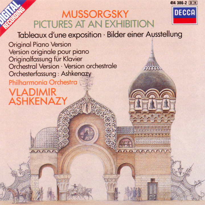 Mussorgsky: Pictures at an Exhibition (piano version & orchestration) 0028941438629