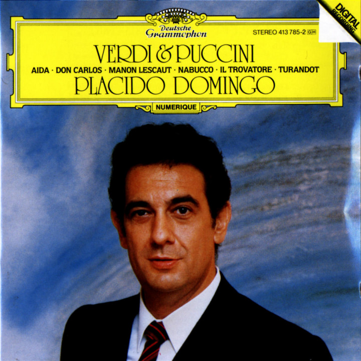 Placido Domingo singt Arien 0028941378527