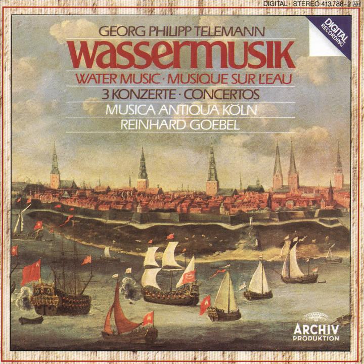 Wassermusik; 3 Konzerte 0028941378826
