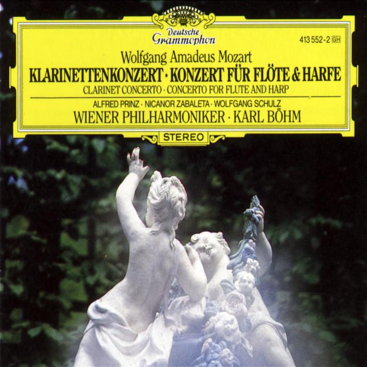Mozart: Clarinet Concerto K.622; Flute & Harp Concerto K.299 0028941355229