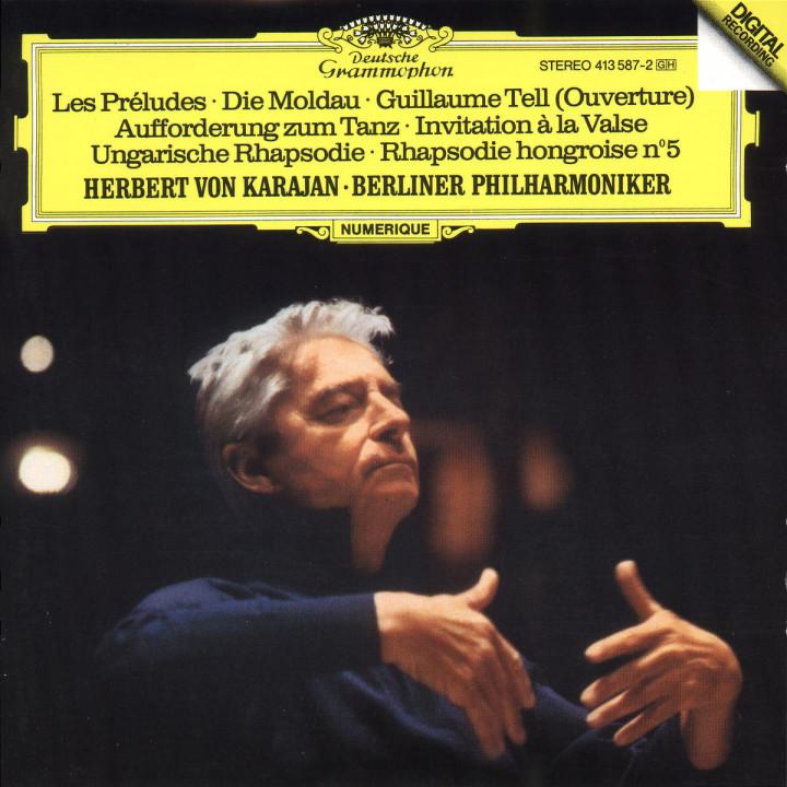 Die Moldau; Les Préludes; Ungarische Rhapsodie Nr. 5 e-moll 0028941358727