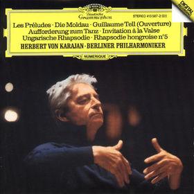 Bedrich Smetana, Die Moldau; Les Préludes; Ungarische Rhapsodie Nr. 5 e-moll, 00028941358721
