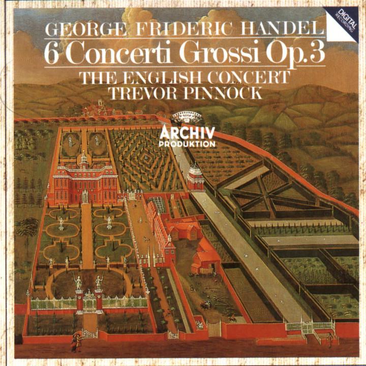 Handel: 6 Concerti Grossi Op.3 0028941372727