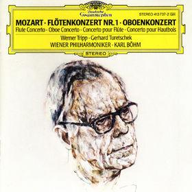 Wolfgang Amadeus Mozart, Flötenkonzert Nr. 1 G-dur KV 313; Konzert für Oboe C-dur KV 314, 00028941373724