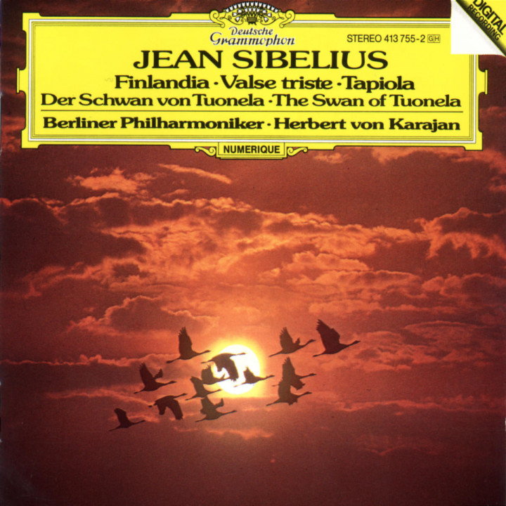 Sibelius: Finlandia; Valse triste; Tapiola; The Swan of Tuonela 0028941375524