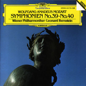 Wolfgang Amadeus Mozart, Sinfonien Nr. 39 Es-dur KV 543 & Nr. 40 g-moll KV 550, 00028941377623