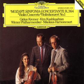 Wolfgang Amadeus Mozart, Sinfonia Concertante KV 364, 00028941346124