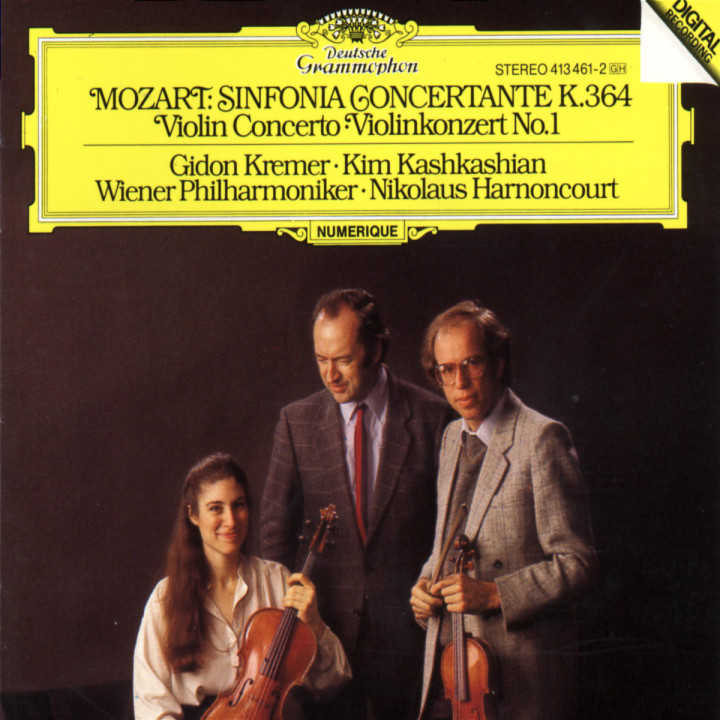 Sinfonia Concertante KV 364 0028941346124
