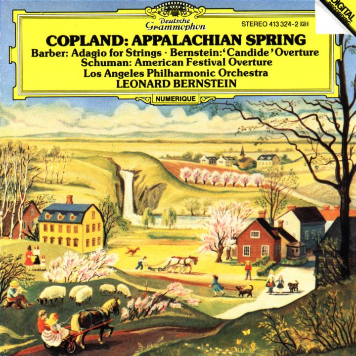 Appalachian Spring; Adagio für Streicher 0028941332426