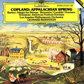 Samuel Barber, Appalachian Spring; Adagio für Streicher, 00028941332424