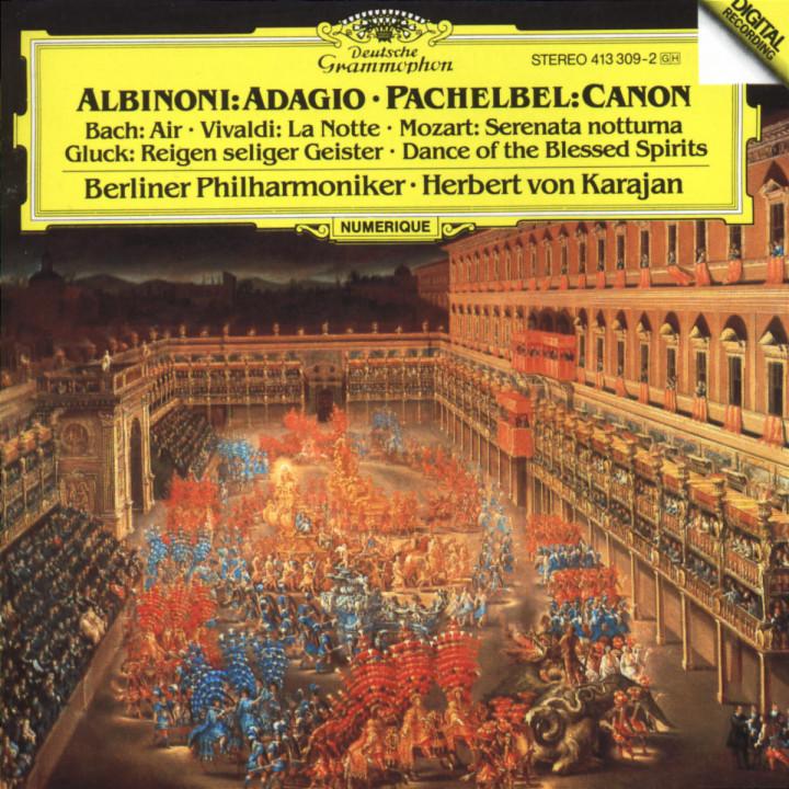 Albinoni: Adagio in G minor / Pachelbel: Canon 0028941330929