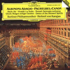 Antonio Vivaldi, Albinoni: Adagio in G minor / Pachelbel: Canon, 00028941330925