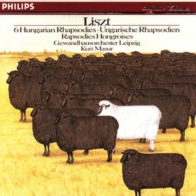 Franz Liszt, Ungarische Rhapsodien für Orchester Nr. 1-6, 00028941272423