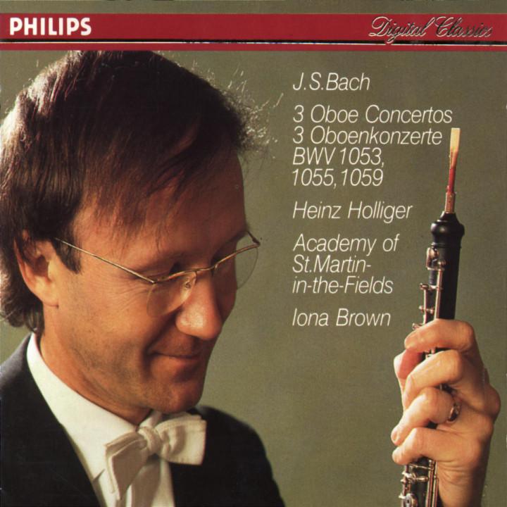 Bach, J.S.: Oboe Concerto in F; Oboe Concerto in D minor; Oboe Concerto in A 0028941285124