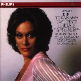 Kiri Te Kanawa, Mozart: Exsultate, Jubilate, Vesperae solennes de confessore, Kyrie in D minor, Ave Verum Corpus, 00028941287328