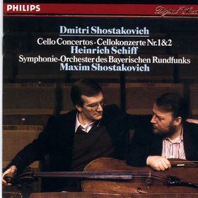 Dmitri Shostakovich, Violoncellokonzerte Nr. 1&Nr. 2, 00028941252623
