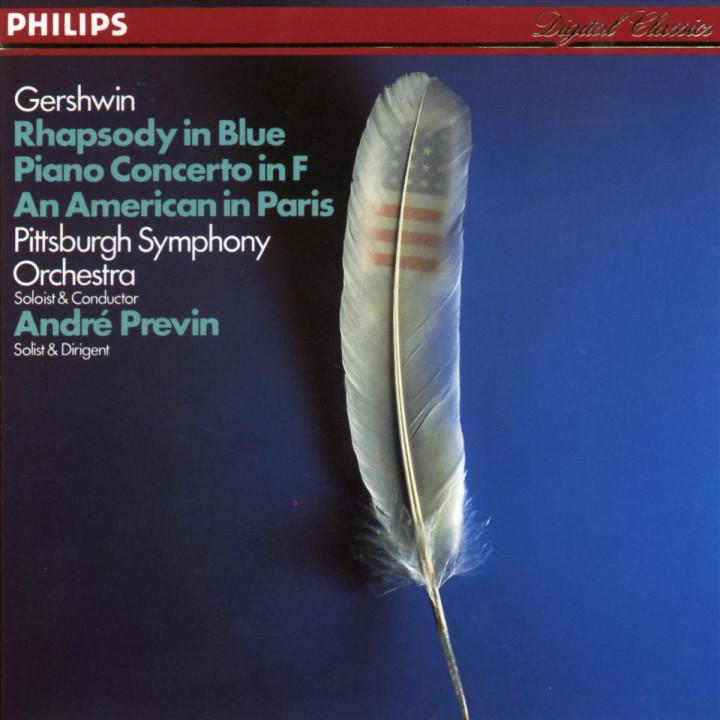 Ein Amerikaner in Paris;  Rhapsody in Blue 0028941261124