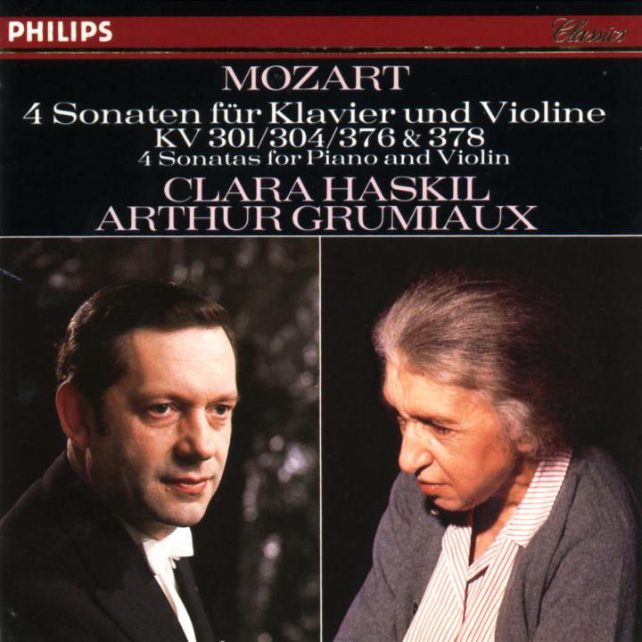 Mozart: 4 Violin Sonatas for Piano and Violin, Nos.18, 21, 24 & 26 0028941225322