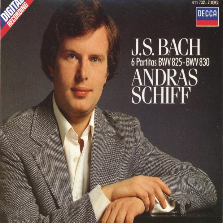 Bach, J.S.: 6 Partitas, BWV 825-830 0028941173221