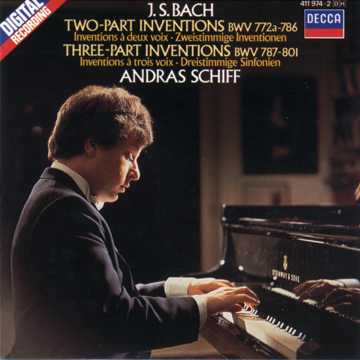 Bach, J.S.: Two and Three Part Inventions 0028941197427