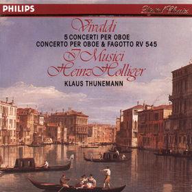 Antonio Vivaldi, Konzert für Oboe, Fagott und Orchester, 00028941148025