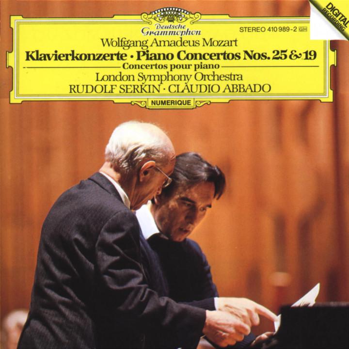 Klavierkonzerte Nr. 25 C-dur KV 503 & Nr. 19 F-dur KV 459 0028941098922