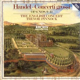 Georg Friedrich Händel, Concerti Grossi op. 6 Nr. 9-12, 00028941089922