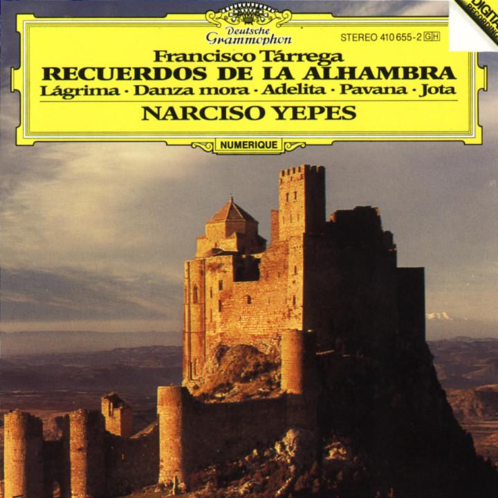 Tárrega: Recuerdos de la Alhambra;/ Lágrima; Danza mora; Adelita; Pavana; Jota 0028941065528