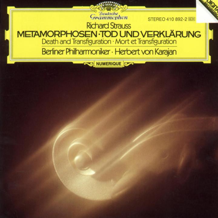 Strauss, R.: Metamorphosen; Tod und Verklärung 0028941089229