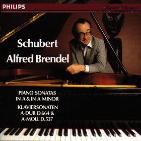 Franz Schubert, Klaviersonaten A-dur op. 120 D 664&a-moll op. 164 D 537, 00028941060525