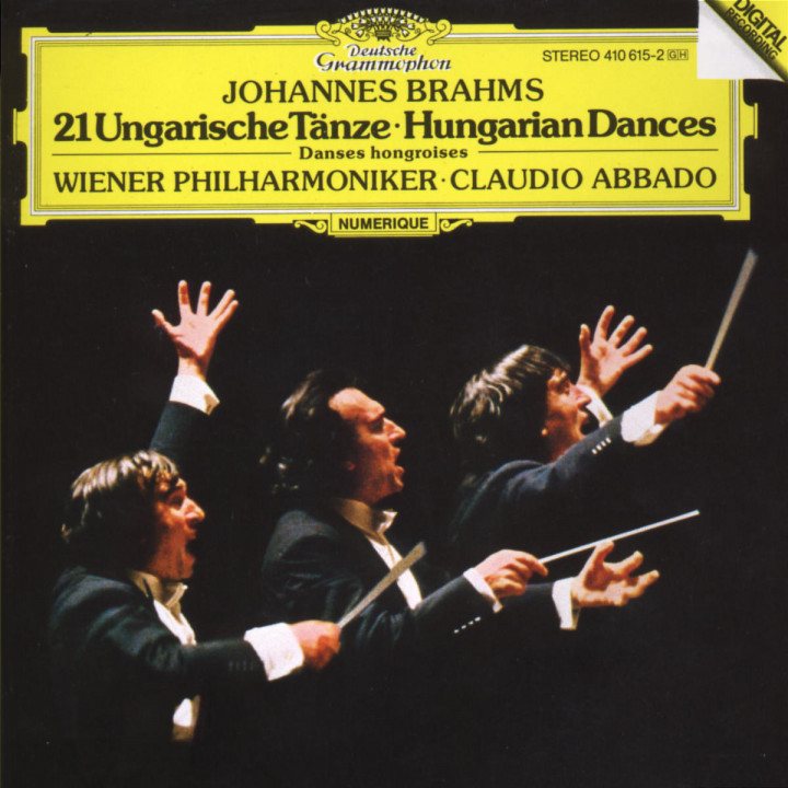 Brahms: 21 Hungarian Dances 0028941061524