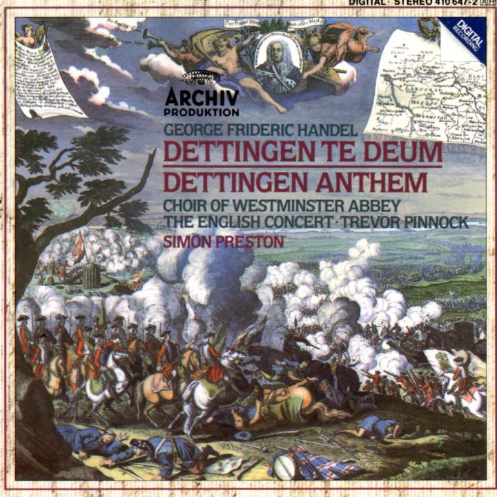 Dettingen Te Deum; Dettingen Anthem 0028941064723