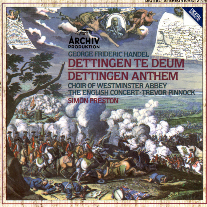 Dettingen Te Deum; Dettingen Anthem 0028941064723