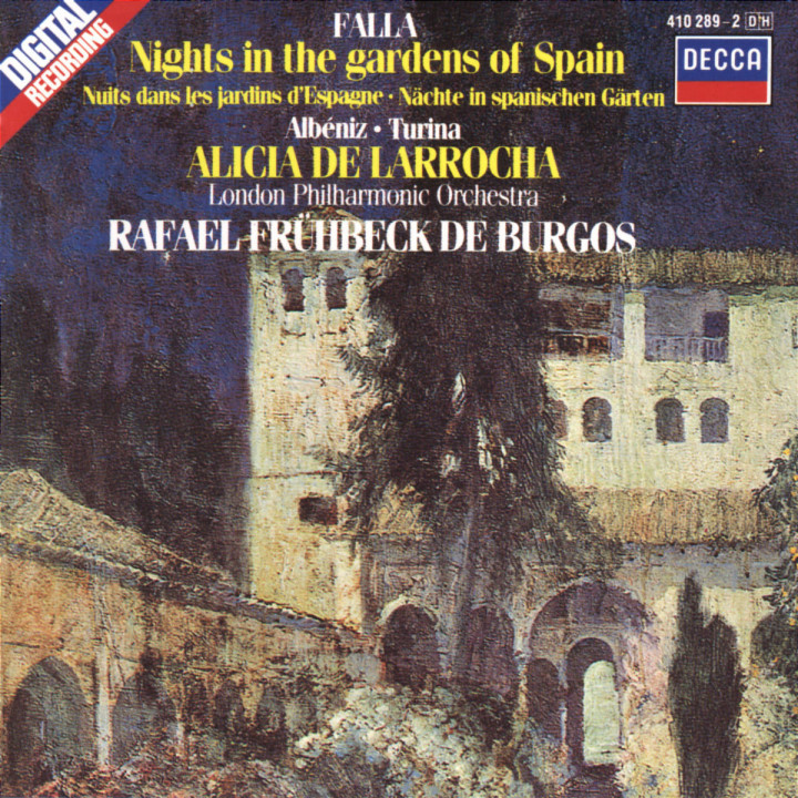De Falla / Albéniz / Turina: Nights in the Gardens of Spain / Rapsodia Española etc. 0028941028921