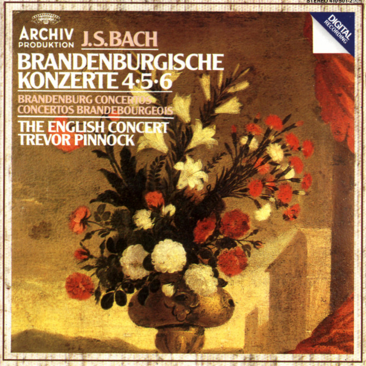 Die Brandenburgischen Konzerte Nr. 4; Nr. 5 und Nr. 6 0028941050128