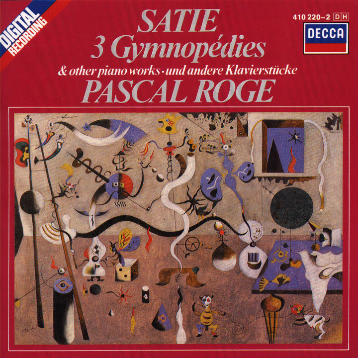 Satie: 3 Gymnopédies; 6 Gnossiennes etc. 0028941022028