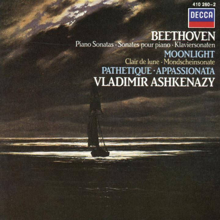 "Klaviersonaten Nr. 14 cis-moll ""Mondschein""; Nr. 23 f-moll ""Appassionata""; Nr. 8 c-moll ""Pathétique"" 0028941026022"