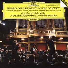 Wiener Philharmoniker, Brahms: Double Concerto Op.102, Academic Festival Overture op.80, 00028941003126