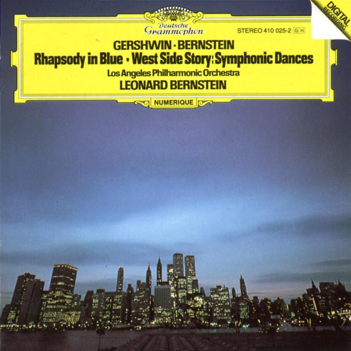 Gershwin: Rhapsody In Blue / Bernstein: Symphonic Dances from West Side Story 0028941002527