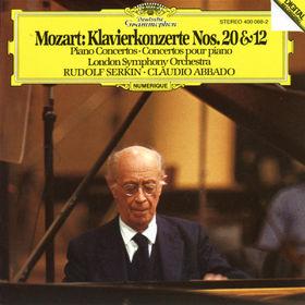 Wolfgang Amadeus Mozart, Klavierkonzerte Nr. 20 d-moll KV 466 & Nr. 12 A-dur KV 414, 00028940006821