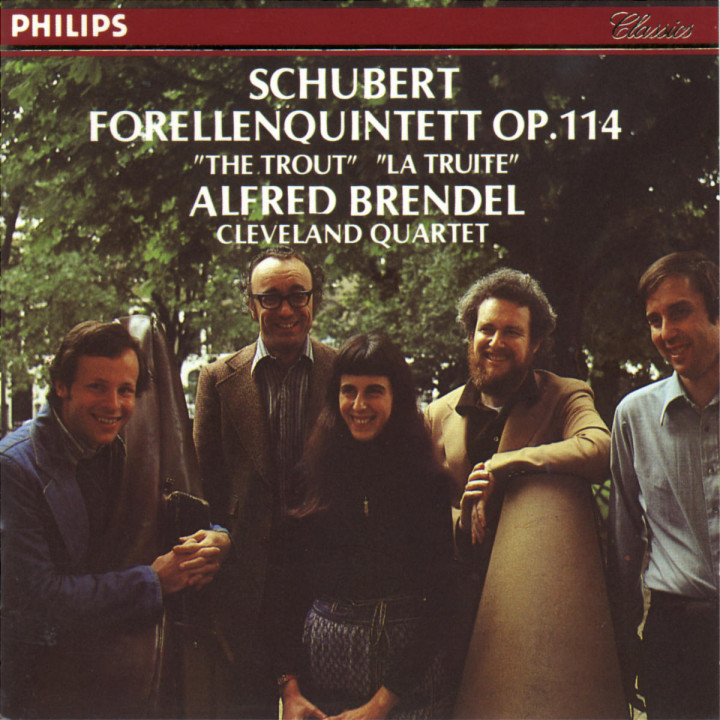 "Schubert: Piano Quintet ""The Trout"" 0028940007828"