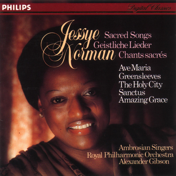 Jessye Norman - Sacred Songs 0028940001925
