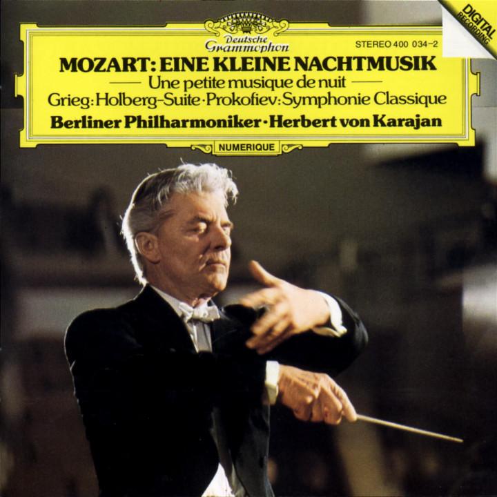 Mozart: Eine kleine Nachtmusik / Grieg: Holberg Suite / Prokofiev: Classical Symphony 0028940003422