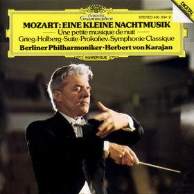 Wolfgang Amadeus Mozart, Eine kleine Nachtmusik, Holberg-Suite, Klassische Sinfonie, 00028940003424