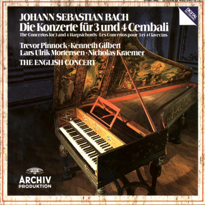 Die Konzerte für 3 und 4 Cembali 0028940004124